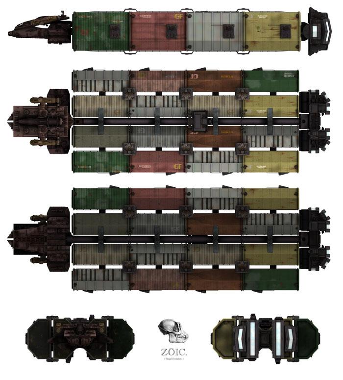 Battlestar Galactica Database - New Ships as of June 4, 2006