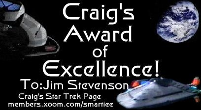 Craig's Award of Excellence