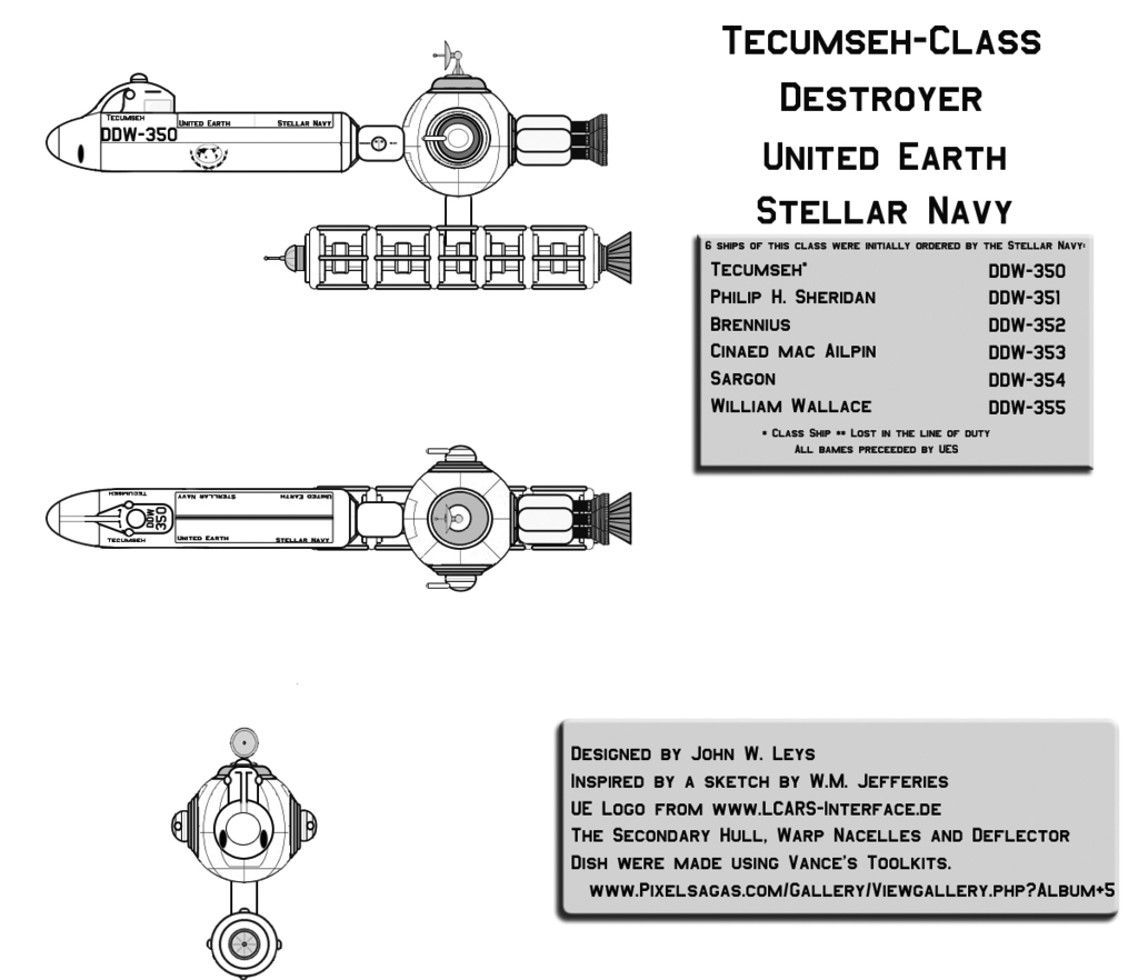 Star Trek Database - New Ships as of February 10, 2010