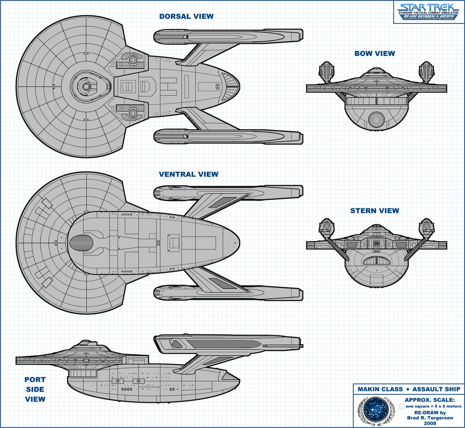 Starship Schematic Database - U.F.P. and Starfleet - Battleships on cylon fighter schematics, starbase schematics, mecha schematics, space schematics, train schematics, macross sdf-1 schematics,