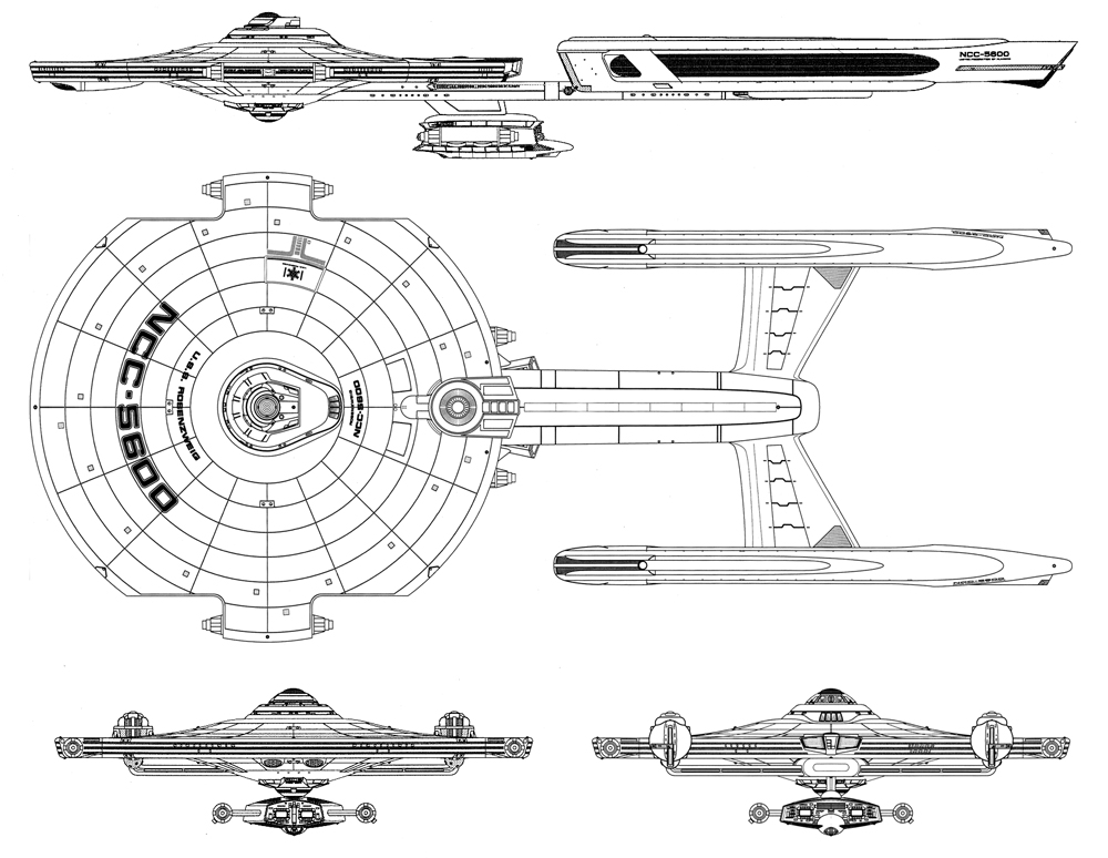 Starship Schematic Database - U F P  and Starfleet - Cruisers