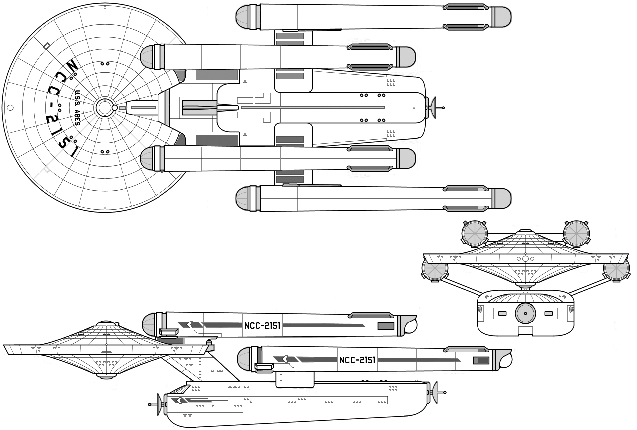Starship Schematic Database - U.F.P. and Starfleet - Ships From The on