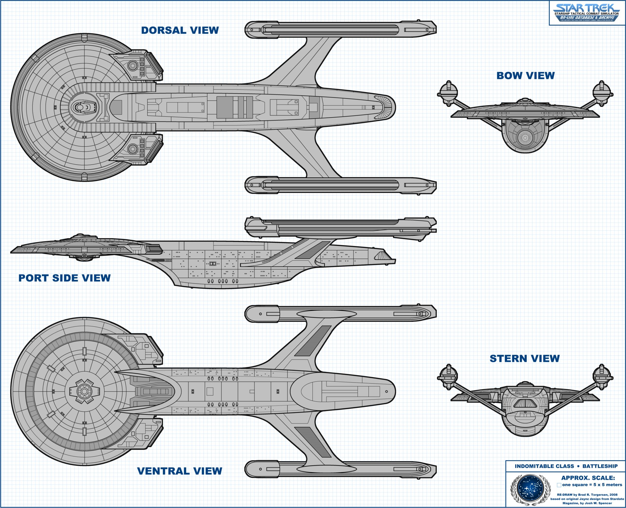 Starship Schematic Database - U F P  and Starfleet - All Ships