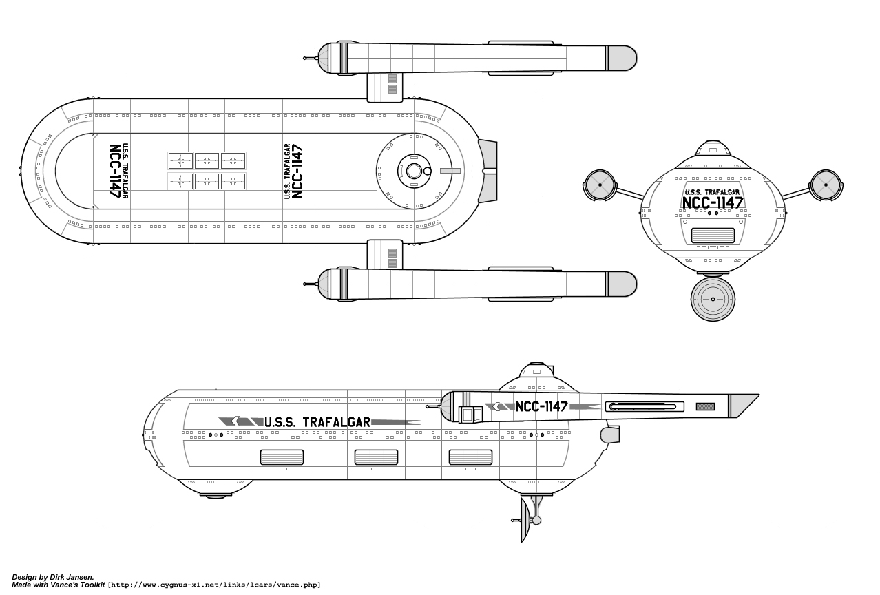 Starship Schematic Database Ufp And Starfleet Ships From The Star Trek Engineering Schematics Carrier