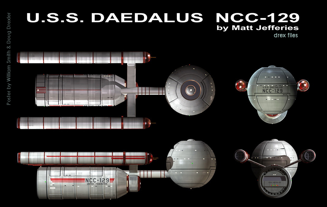 Starship Schematic Database - U.F.P. and Starfleet - Ships From The