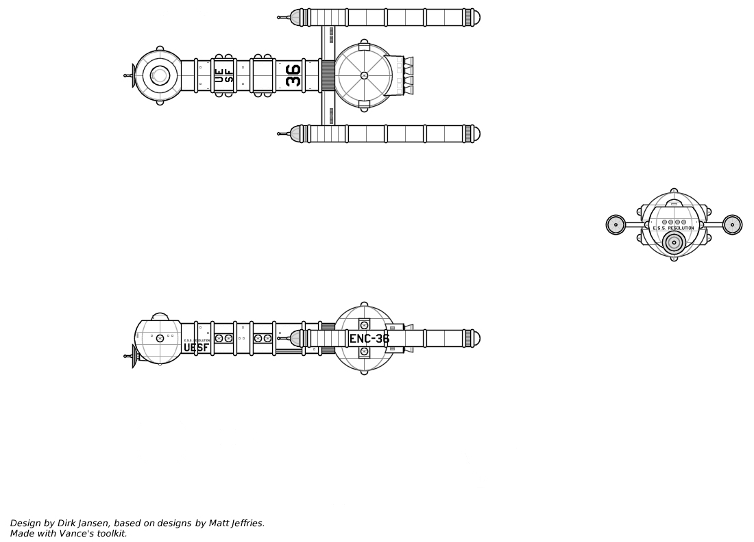 starship schematic database  cruiser resolution