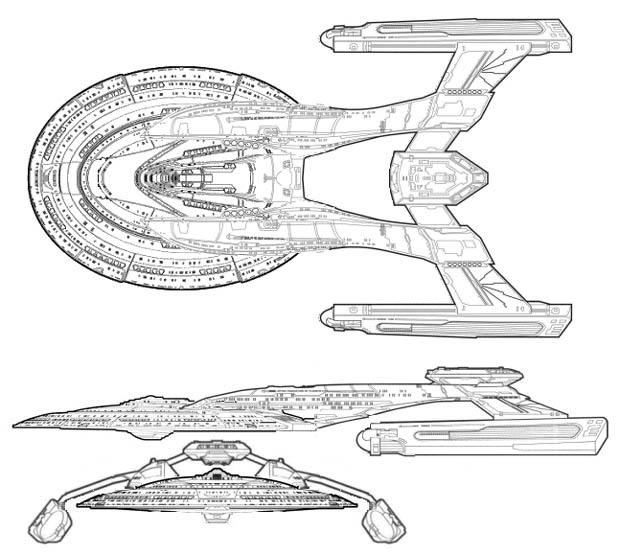 Star Trek StarShip Schematics - QBN Starship Schematics on macross sdf-1 schematics, train schematics, cylon fighter schematics, space schematics, starbase schematics, mecha schematics,