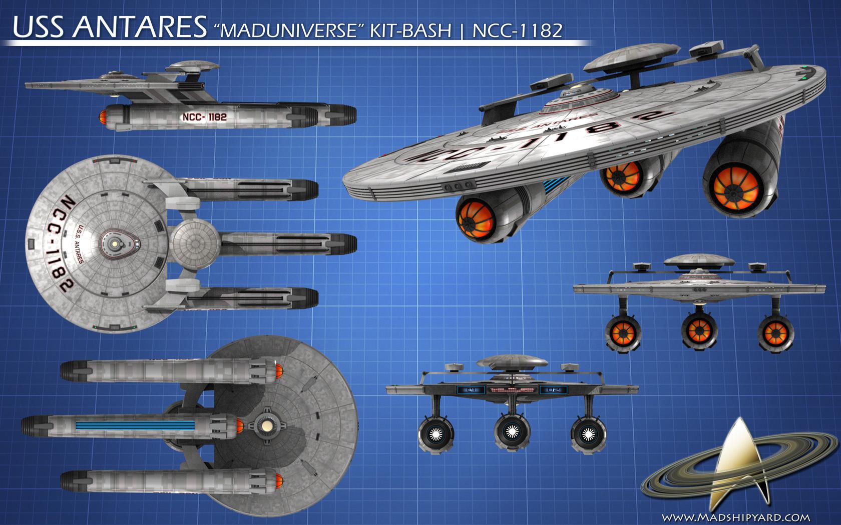 Star Trek Database - New Ships as of July 11, 2011