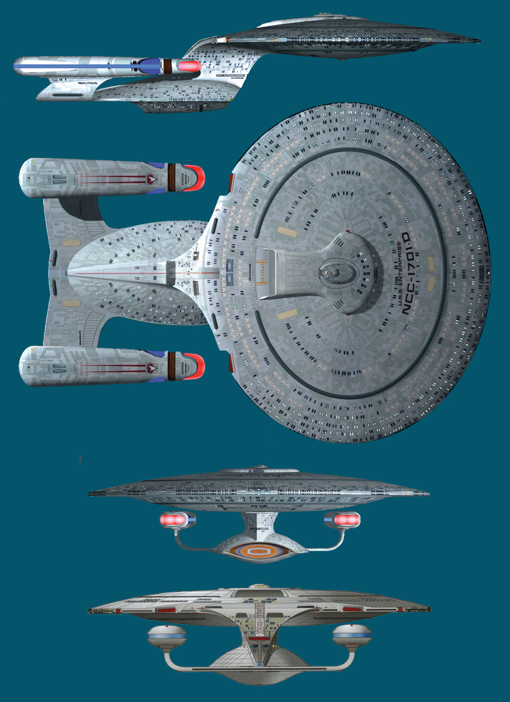 What makes a starship look right in tng the galaxy class ccuart Image collections