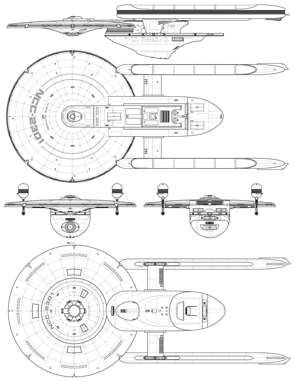 Starship Schematic Database - U F P  and Starfleet - Miscellany