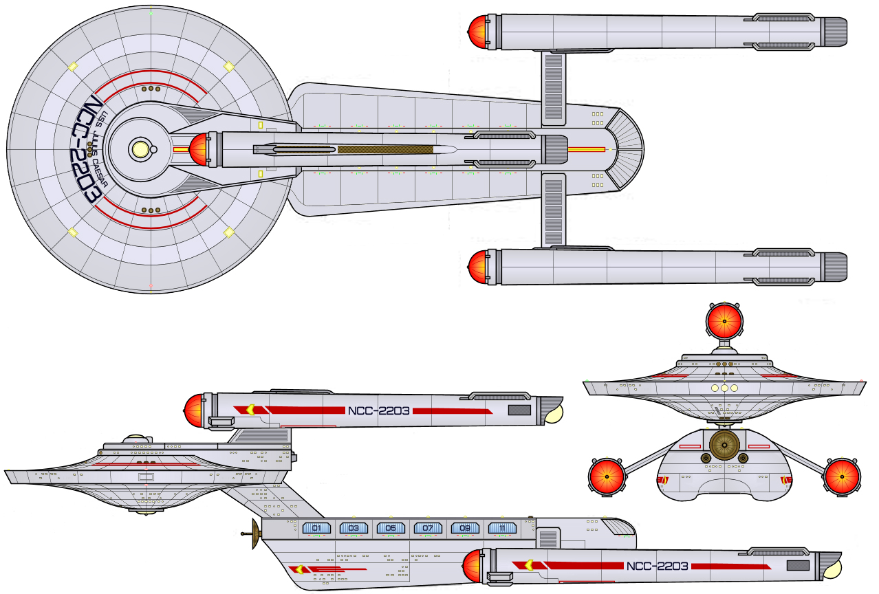 Starship Schematic Database Star Trek Engineering Schematics Heavy Carrier Julius Caesar