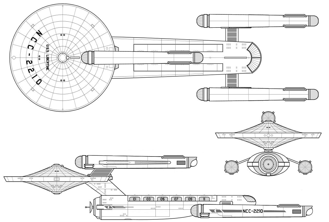 Starship Schematic Database - U F P  and Starfleet - Ships