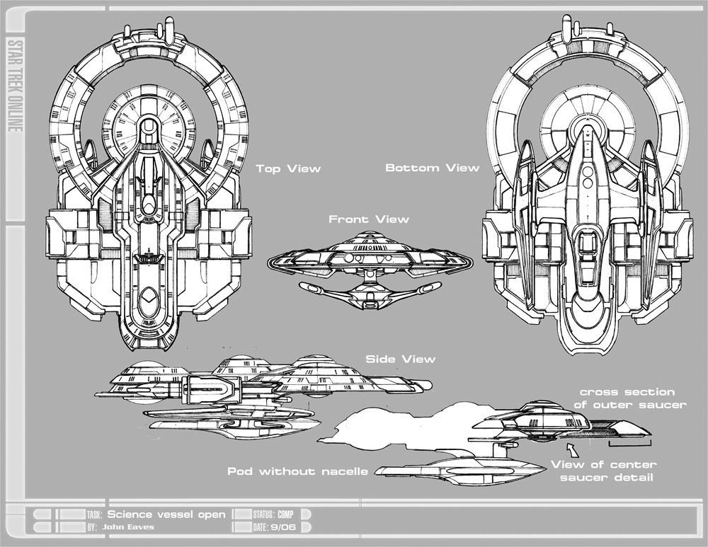 the starships of perpetual  u0026quot star trek online u0026quot