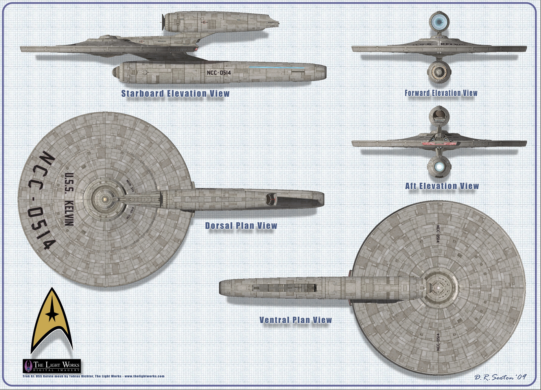 Starship Schematic Database - U F P  and Starfleet - Ships From The