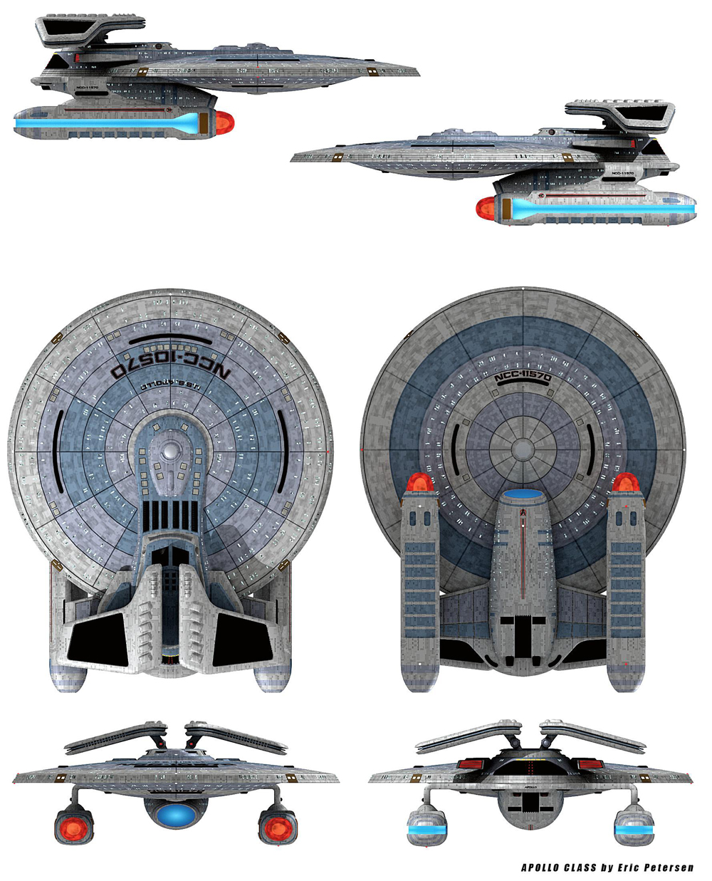 Need Some Kitbashing Ideas All Scale Trek