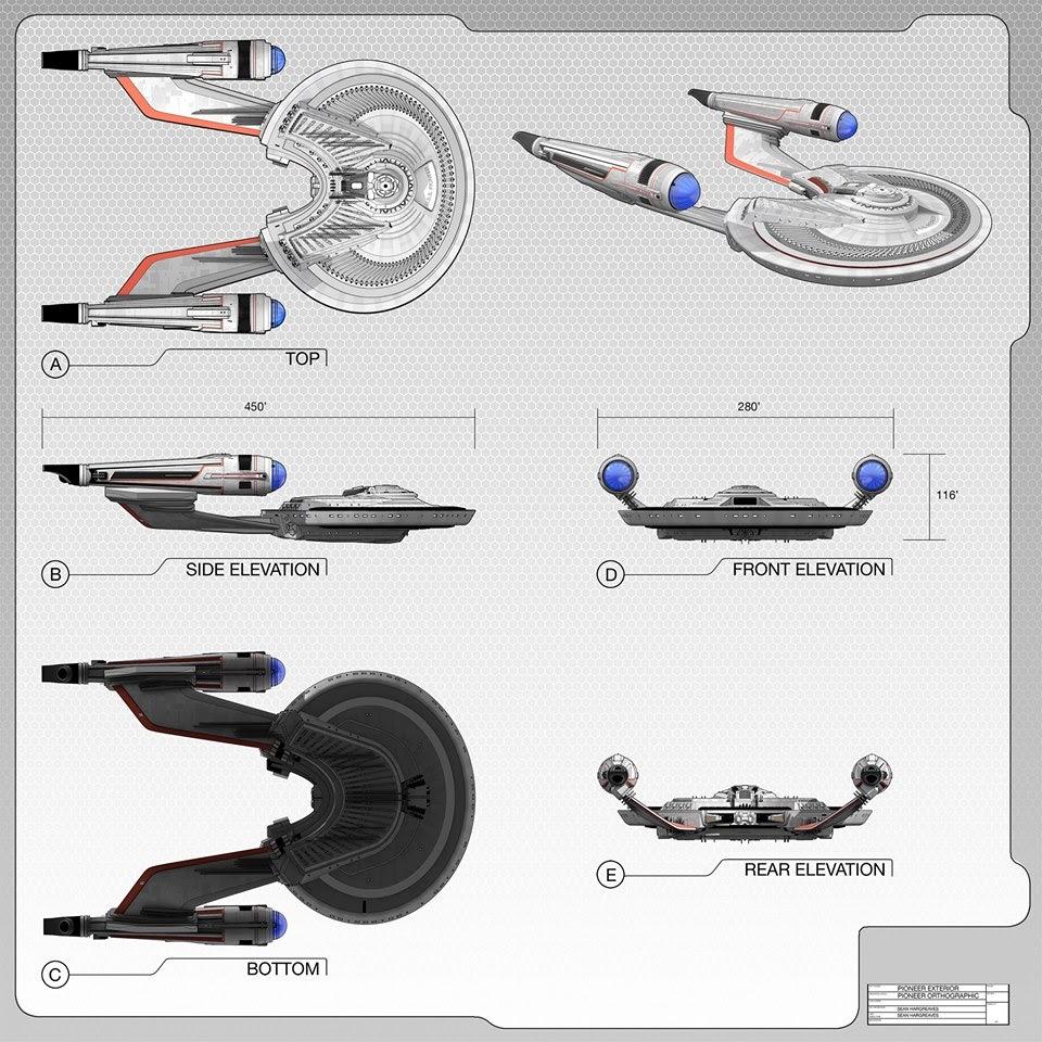 Starship Schematic Database - U.F.P. and Starfleet - Ships ...