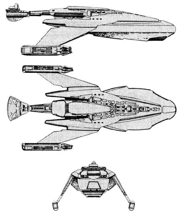 Starship Schematic Database - Klingon Empire - Freighters