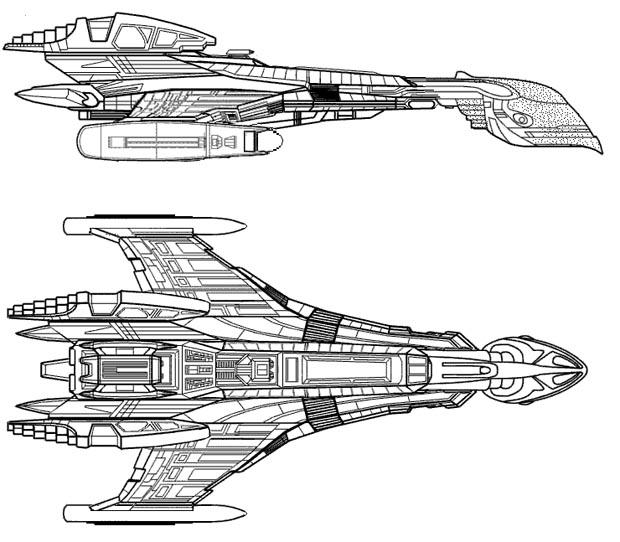 space ship schematics