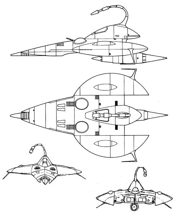 Space Battleship Yamato Schematics Weapons